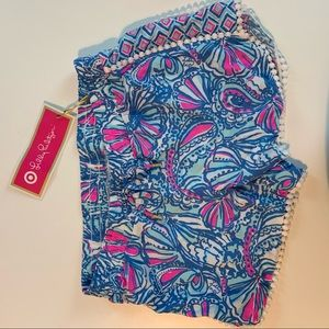 NWT Lilly Pulitzer for Target Girls Shorts Size L